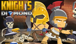 Knights diamond game Image