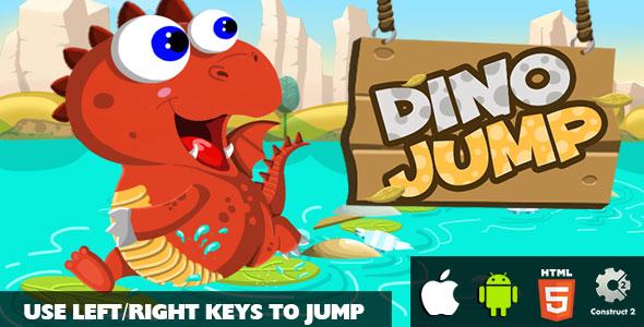 Dino Jump Game Image