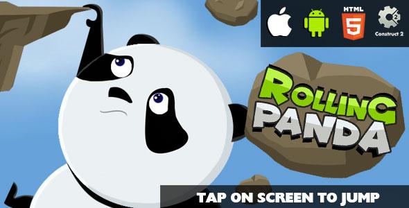 Rolling Panda Game image