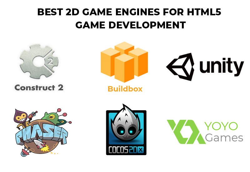 Best 2d game engines for HTML5 Game Development