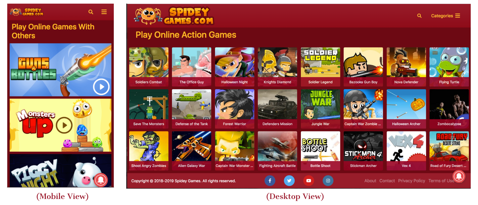 Spideygames - Play fun html5 games online